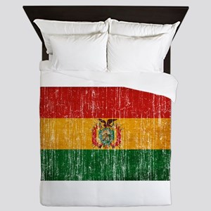 Bolivia Flag Queen Duvet