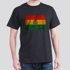 Bolivia Flag Dark T-Shirt