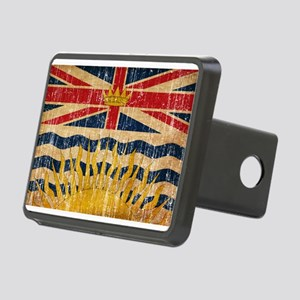 British Columbia Flag Rectangular Hitch Cover