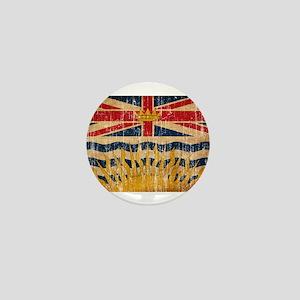 British Columbia Flag Mini Button