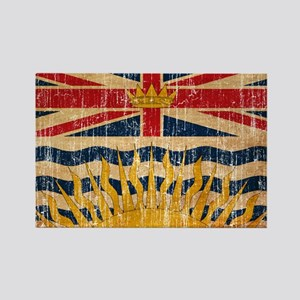 British Columbia Flag Rectangle Magnet