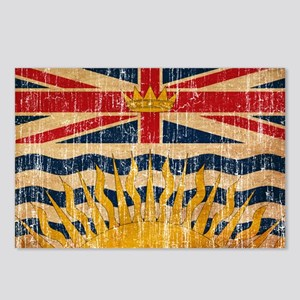 British Columbia Flag Postcards (Package of 8)