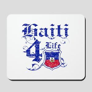 Haiti for life designs Mousepad