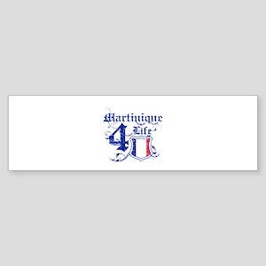Martinique for life designs Sticker (Bumper)
