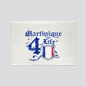 Martinique for life designs Rectangle Magnet
