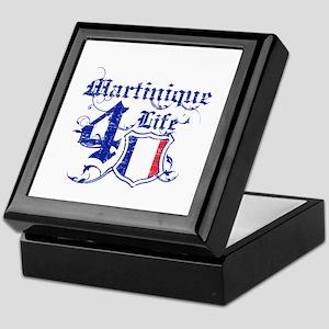 Martinique for life designs Keepsake Box
