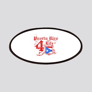 Puerto Rico for life designs Patches
