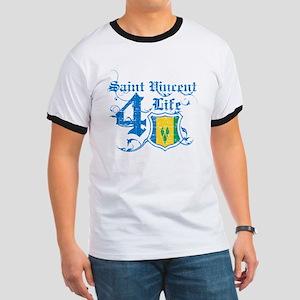 Saint Vincent for life designs Ringer T