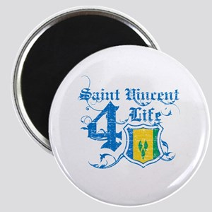 Saint Vincent for life designs Magnet