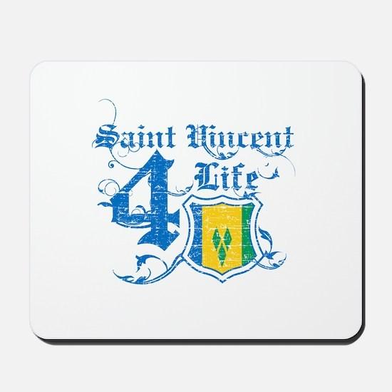 Saint Vincent for life designs Mousepad