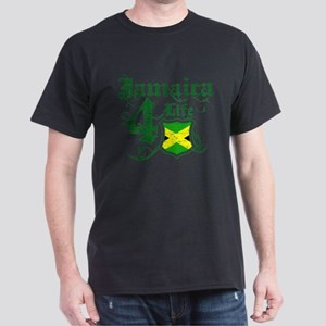 Jamaica for life designs Dark T-Shirt