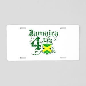 Jamaica for life designs Aluminum License Plate