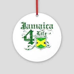 Jamaica for life designs Ornament (Round)