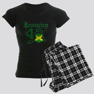 Jamaica for life designs Women's Dark Pajamas