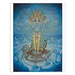 Vishnu on Shesha