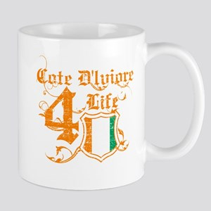 Cote D Ivoire for life designs Mug