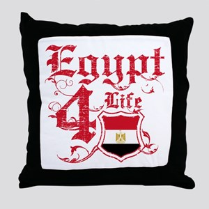 Egypt for life designs Throw Pillow