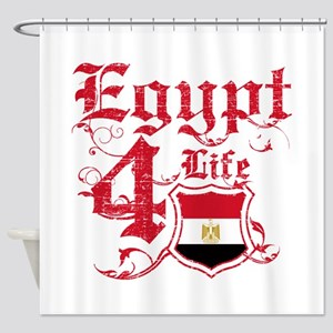 Egypt for life designs Shower Curtain