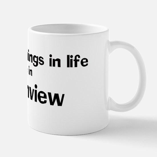 Greenview: Best Things Mug