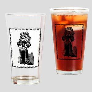 Lady Death Drinking Glass