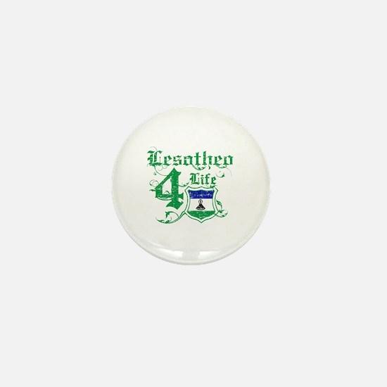 Lesotho for life designs Mini Button