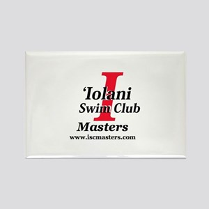 ISC Masters logo Rectangle Magnet