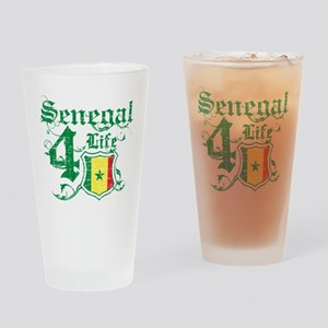 Senegal for life designs Drinking Glass