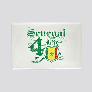 Senegal for life designs Rectangle Magnet