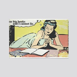 I use big books Rectangle Magnet