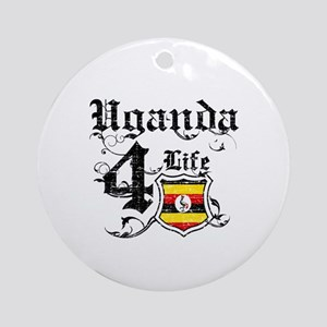 Uganda for life designs Ornament (Round)