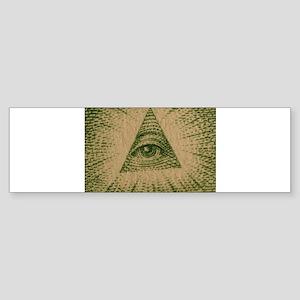 Eye on Your Dollar Sticker (Bumper)