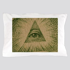 Eye on Your Dollar Pillow Case