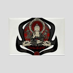 Siddharta Gautama Buddha Rectangle Magnet