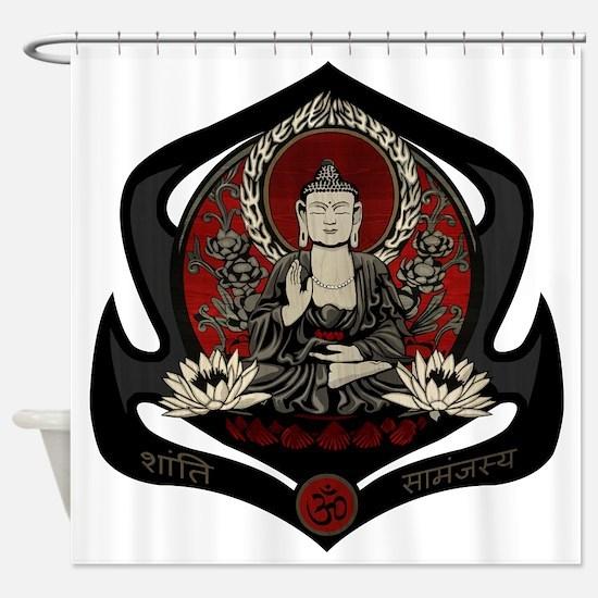 Siddharta Gautama Buddha Shower Curtain