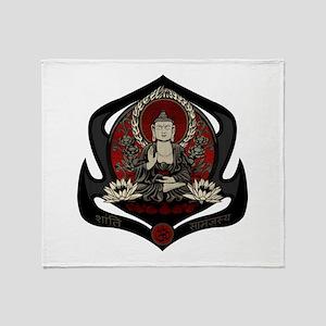 Siddharta Gautama Buddha Throw Blanket
