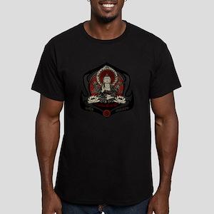Siddharta Gautama Buddha Men's Fitted T-Shirt (dar