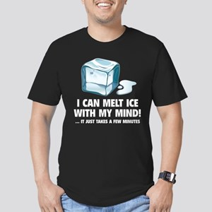 I Can Melt Ice With My Mind Men's Fitted T-Shirt (