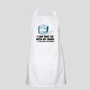 I Can Melt Ice With My Mind Apron
