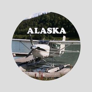 Alaska: Float plane, Trail Lake 2 Button