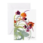 Atom Flowers Greeting Cards (Pk of 20)