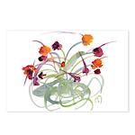 Atom Flowers Postcards (Package of 8)