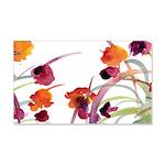 Atom Flowers 22x14 Wall Peel