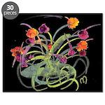 Atom Flowers Puzzle