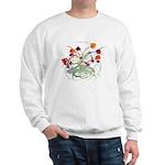Atom Flowers Sweatshirt
