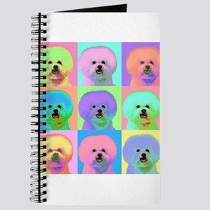 Op Art Bichon Journal