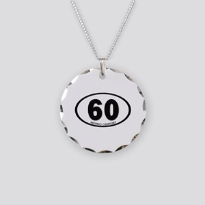 Metric century Necklace Circle Charm
