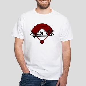 Yankin Off Baseball White T-Shirt