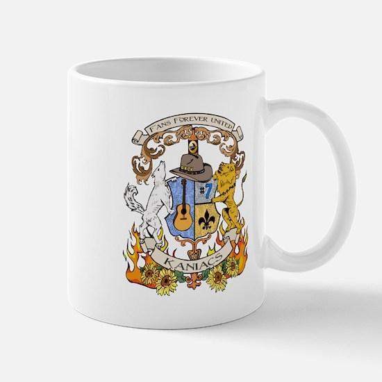 Kaniac Crest English Motto Mug