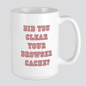 Your cache, did you clear it?
