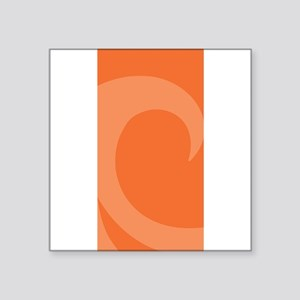 "Wave Square Sticker 3"" x 3"""